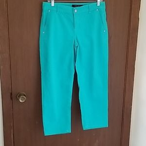 Nine West Teal Color Pants,Size 6